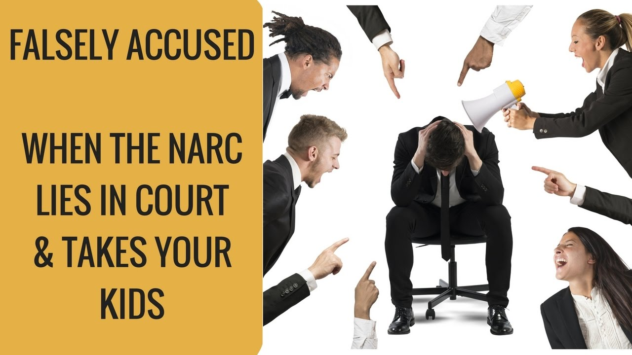 Falsely Accused — When the narc lies to the Court & takes your kids