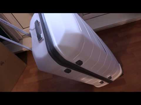Samsonite Flux Spinner Expandable Hand Luggage 81cm (81x55x36/40) 130/145L close look