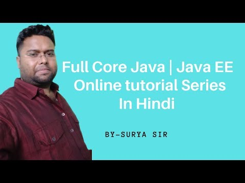Core Java Online Training Session 30 | Java Tutorial in Hindi | Java Tutorial For Beginners thumbnail