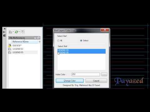 Xref Layers Color (XRC) Lisp