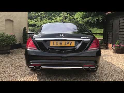 Mercedes S63L AMG V8 BiTurbo [585] Executive S63 LWB - FTC Leasing X4/2221