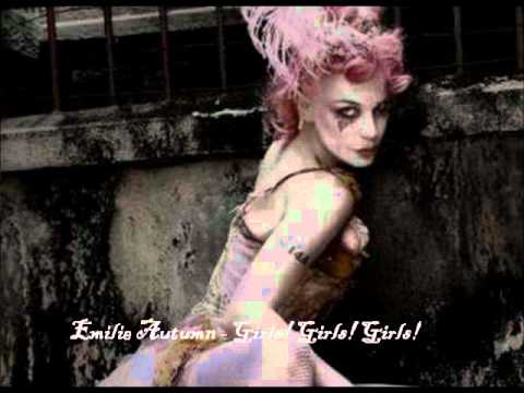 Emilie Autumn - Girls! Girls! Girls! (live rehearsal)