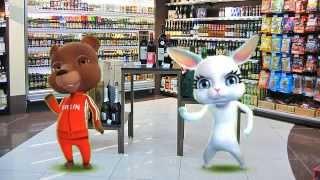 Zoobe Зайка Случай в супермаркете