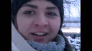 Primul VLOG: A nins, zapada, facultate, orasul | F Thumbnail