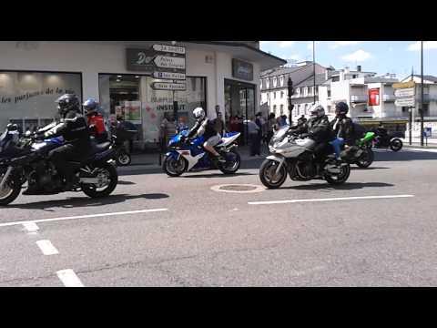 Moto Bikers Show Lourdes France Juin 2012