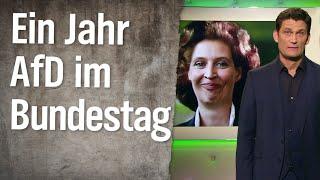 Ein Jahr AfD im Bundestag