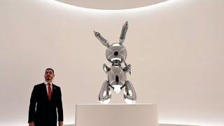 Jeff Koons bat un record avec un lapin vendu 91,1 millions de ...