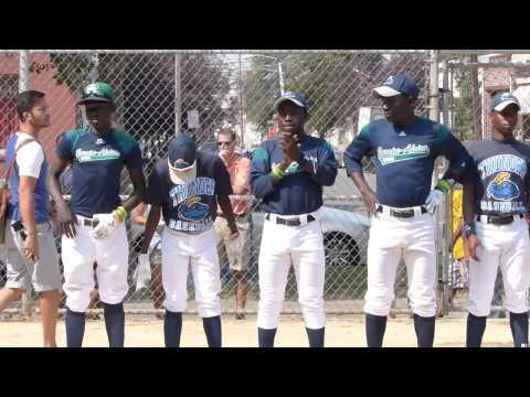Little League team from Uganda plays in Trenton