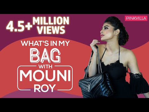 What's in my bag with Mouni Roy  S03E04  Fashion  Bollywood  Pinkvilla