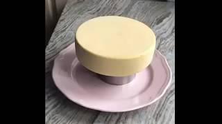 Зеркальная глазурь для муссового торта от кондитера Анны Аксёновой (@goonie)