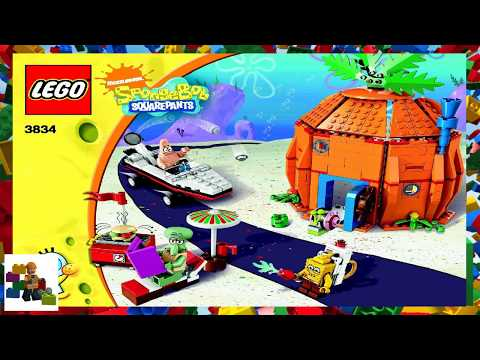 Lego Instructions Spongebob 3834 Good Neighbours At Bikini