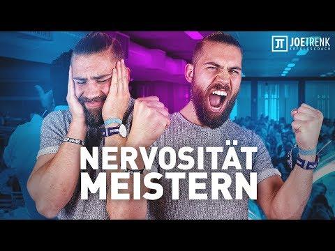 Wie du Nervosität meisterst - Gelassen statt nervös sein