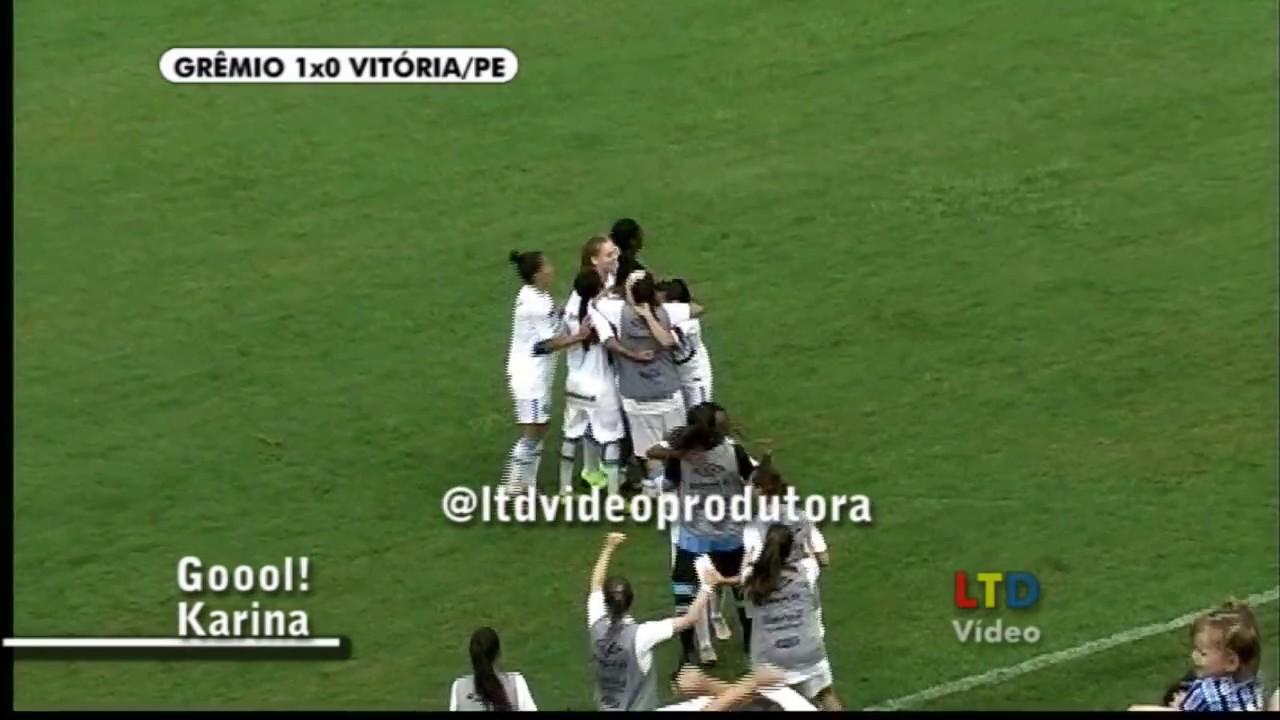 Grêmio 1x0 Vitória PE - Campeonato Brasileiro Futebol Feminino - 12 03 2017 0cf94b39730e8