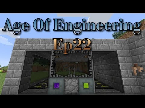 Age Of Engineering Ep22 A Simple Mob Farm!