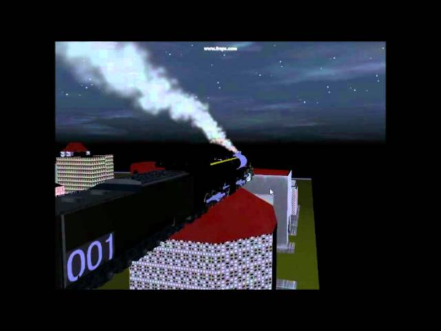 Galaxy Railways show off route