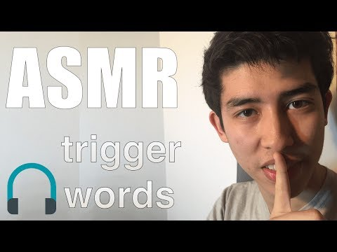 ASMR 👄Trigger Words 👄 Sleep, Tingles, sk sk + Mouth Sounds