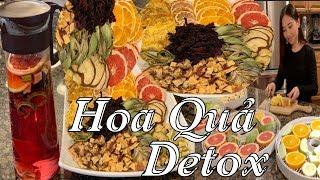 Detox Tea - Detox hoa quả sấy khô rất tốt cho sức khoẻ và ngăn ngừa rất là nhiều bệnh