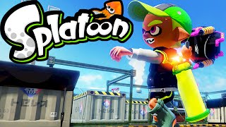 Splatoon Wii U Gameplay LIVE! Slosher Deco NEW Weapon Ranked Squad Splat Zones 2.3 Stream Online HD