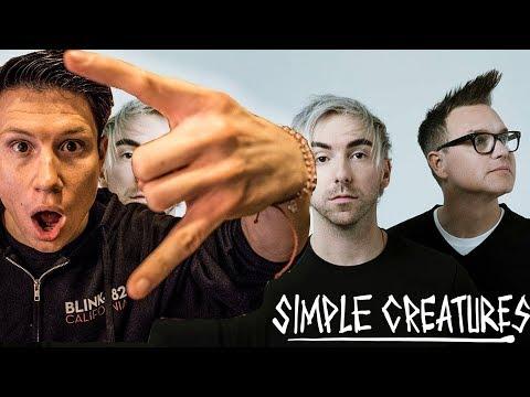 Simple Creatures - Drug | Reaction! (Mark Hoppus, Alex Gaskarth new 2019 music!) Mp3