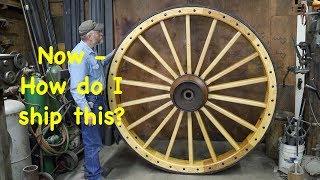How do I Ship a 1,018 # Wagon Wheel? | Engels Coach Shop