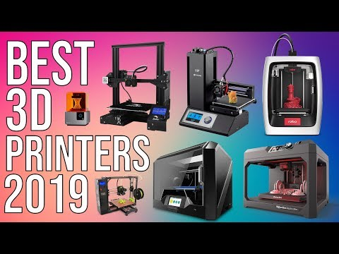 BEST 3D PRINTERS of 2019 | TOP 10 BEST 3D PRINTER 2019