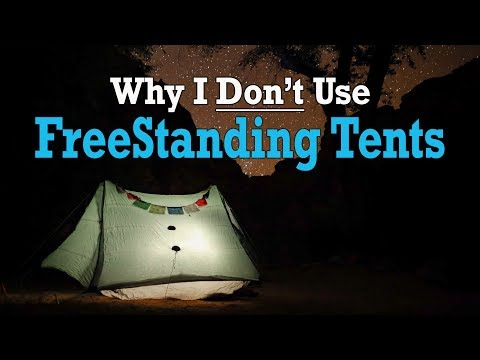 Freestanding VS Trekking Pole - Why I DON'T Use Freestanding Tents