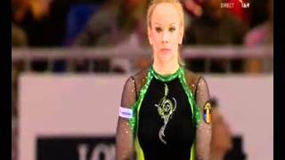 Zapętlaj Sandra IZBASA (ROU) EF VT - EC Brussels 2012 | ArtisticGymnastics1