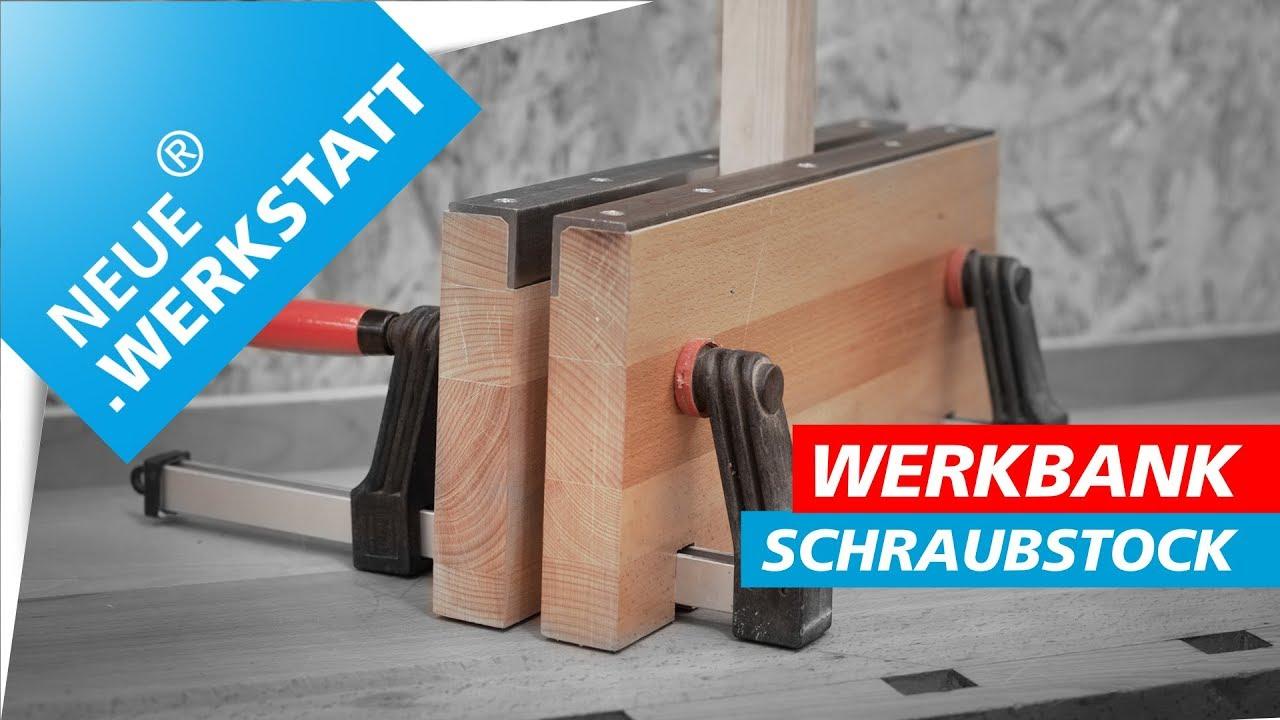 Schraubstock Selber Bauen So Gehts Fur Die Werkstatt Werkbank Oder Mobil Neue Werkstatt Youtube