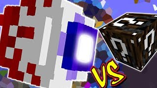 OLHO MUTANTE VS. LUCKY BLOCK ESPECIAL (MINECRAFT LUCKY BLOCK CHALLENGE EYE OF CTHULHU)