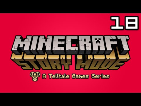 Minecraft Story Mode Let's Play: Episode 6 Part 1 - I'M IN THE GAME
