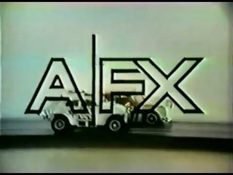 Aurora AFX 'Manza Spider' Race Car Set Commercial (1972)