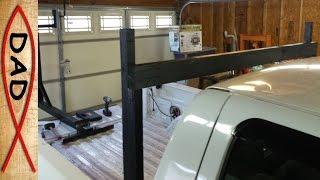 Truck headache rack with bed extender