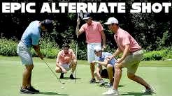 5 Golfers, 1 Golf Club, 1 Golf Ball, 5 Golf Holes | Alternate Shot