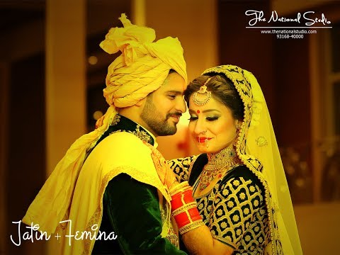 Jatin & Femina l Wedding Cine.Teaser l THE NATIONAL STUDIO l