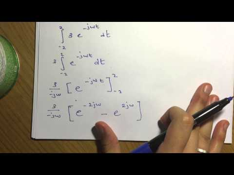 Fourier Analysis: Fourier Transform Exam Question Example