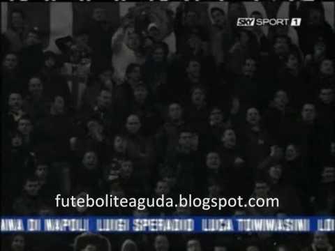 Inter fans singing José Mourinho