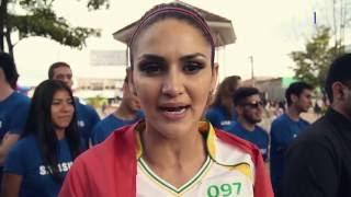 Leryn Franco - Antorcha Olimpica