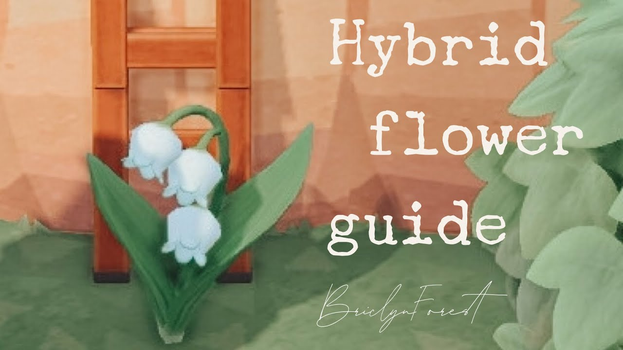 Acnh Hybrid Flower Guide Youtube