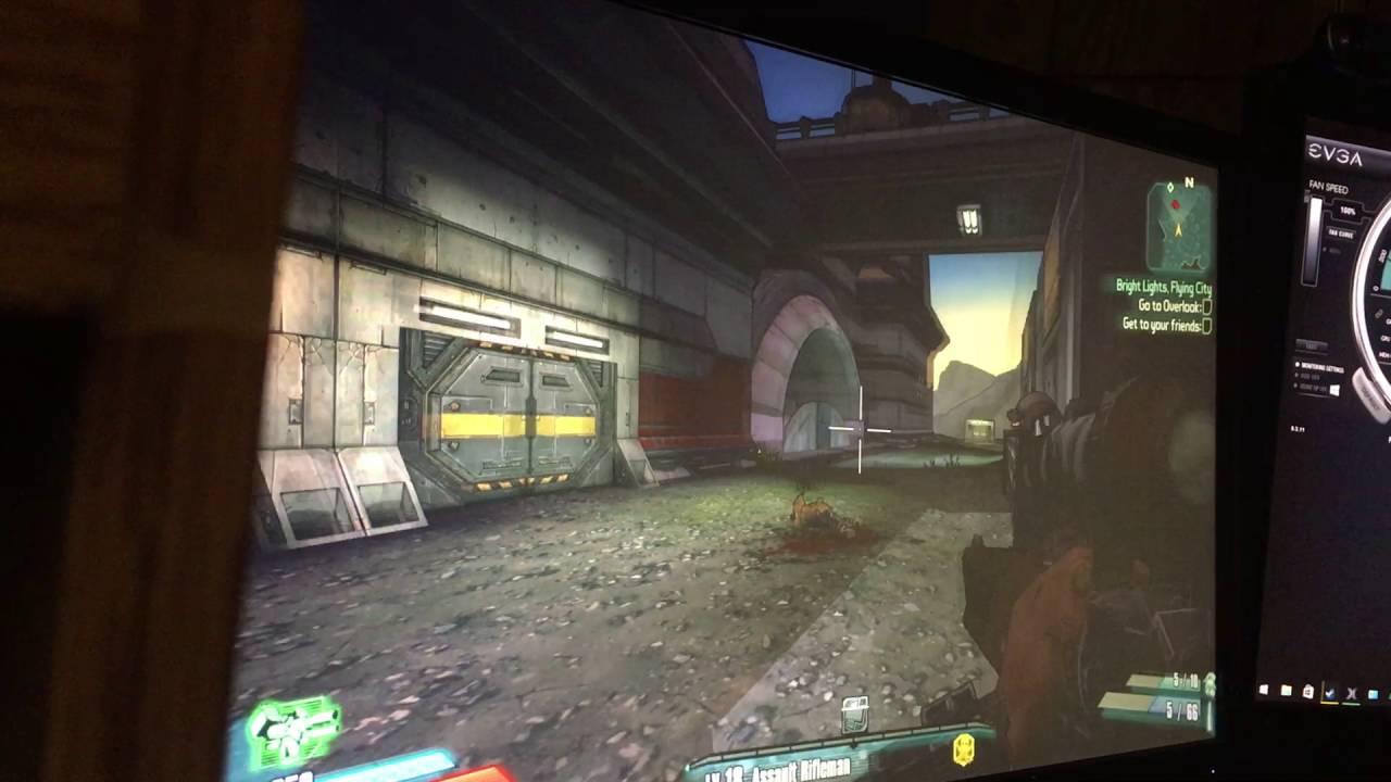 PC keeps crashing while only playing borderlands 2