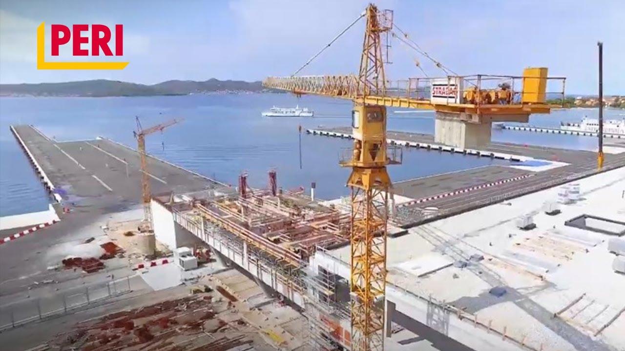 PERI │Construction of the Terminal Building, Gazenica Passenger Port, Zadar, Croatia