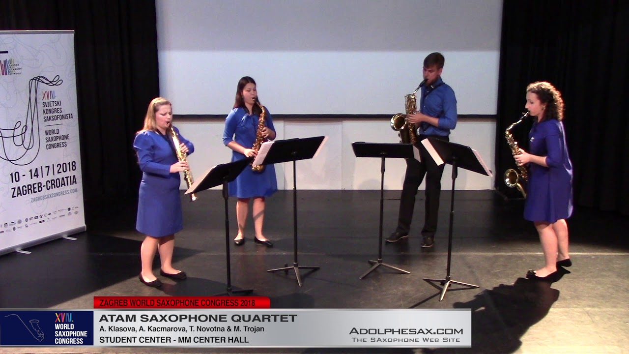 With this hands I surrender my wounds by Adam Greenwood Byrne   Atam Saxophone Quartet   XVIII World