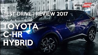 Toyota C-HR Hybrid | Test Drive | Review 2017