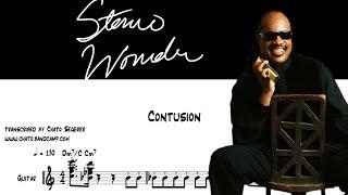 Stevie Wonder - Contusion (Transcription, Melody & Chords)