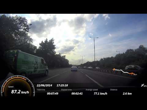 North Circular Road A406 ride