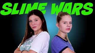 SLIME WARS RANDOM DRAW || Taylor and Vanessa