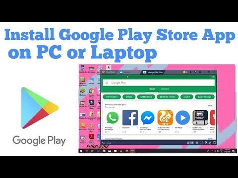 How To Install Google Play Store App On PC Or Laptop || Download Play Store Apps On PC