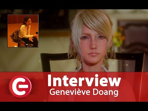 Vidéo Interview de Geneviève Doang - Comédienne et doubleuse de Lunafreya Nox Fleuret (Final Fantasy XV)