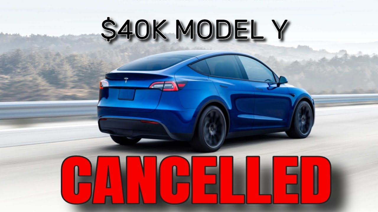 Tesla Model Y - CHEAPEST MODEL Y CANCELLED [Range Too Low]