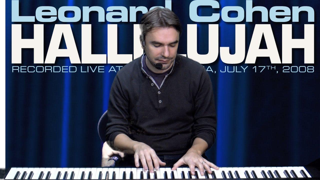 Hallelujah Leonard Cohen ( Jeff Buckley )- Tuto Piano ...
