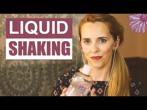 ASMR - LIQUID SHAKING | 🌊 Assortment of Liquid Sounds 🌊 | Whispering, Tapping
